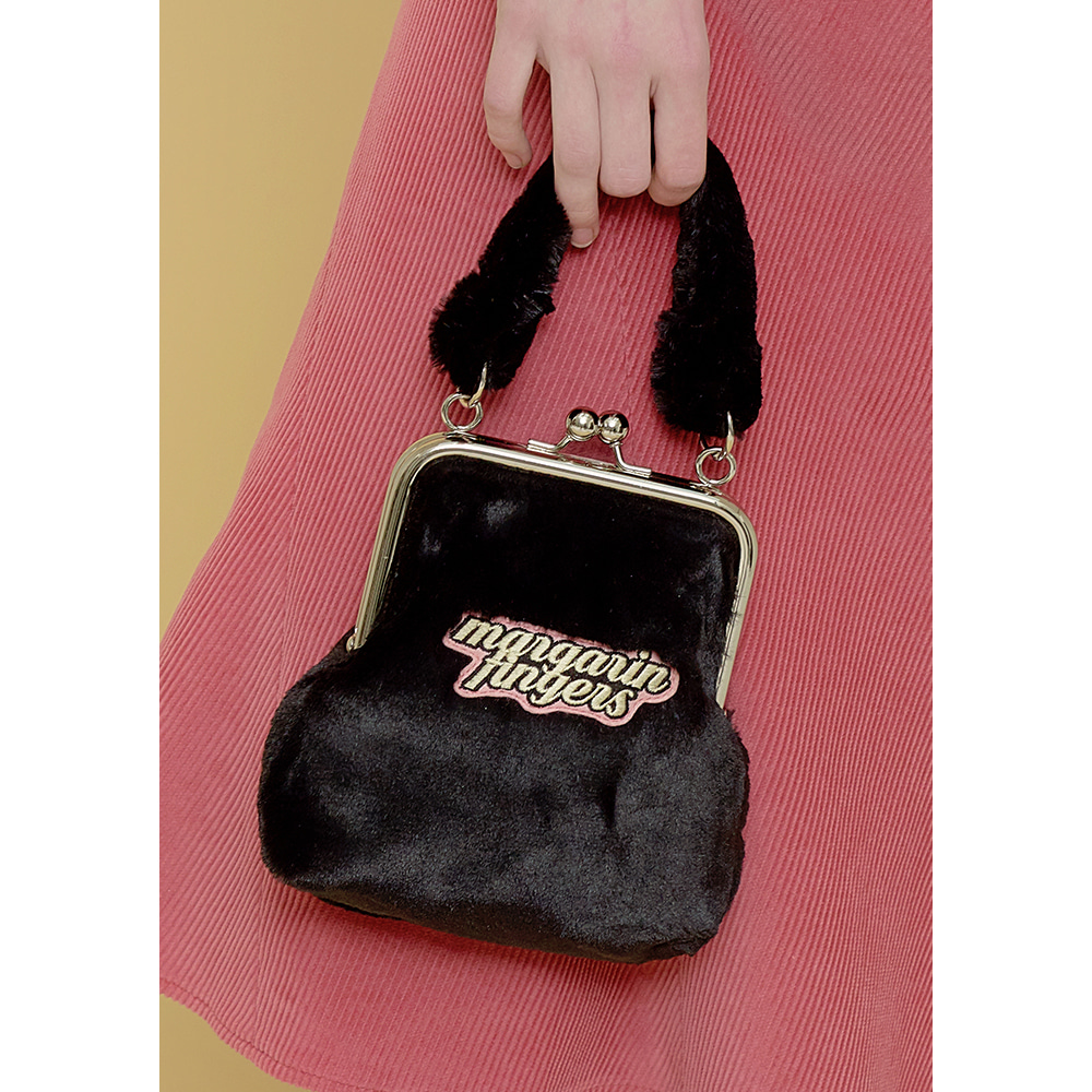 logo eco fur bag
