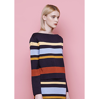 [50% SALE]multi stripe knit
